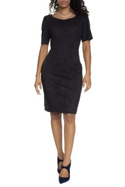 Vestido Preto Básico Curto - DG15024