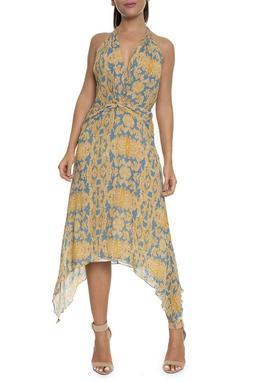 Vestido Curto Estampa Arabesco - DG16450