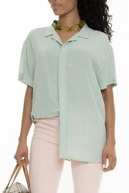 Camisa Manga Curta Verde - DG16012