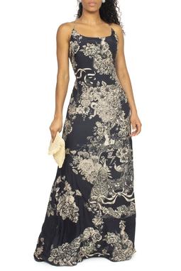 Vestido Longo Estampado - DG15071