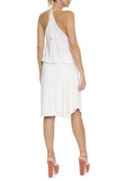Vestido Midi Branco Hotfix - DG16375 Animale
