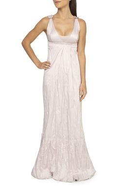 Vestido Longo Evasê Rosê - DG15387