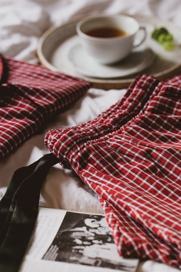 Pijama Dessa - Manga Longa + Shorts