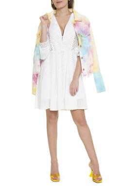 Jaqueta De Sarja Tie Dye - DG15884