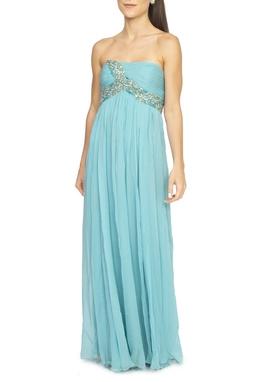 Vestido Longo Azul Turquesa - DG15391