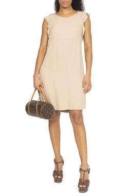 Vestido Nude Curto - DG15019