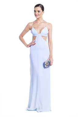 Vestido Aura Azul CLM