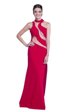 Vestido Bianca Vermelho CLM