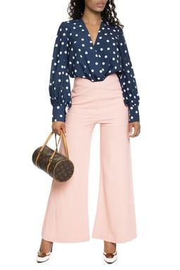 Calça Pantalona Pala Rosê - DG15447