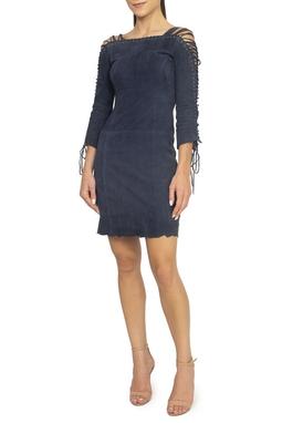 Vestido De Suede ML - DG15069