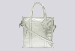 Bolsa Shopper Bazar Silver IBG
