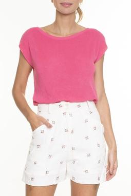 Blusa Tricot Rosa - DG16563