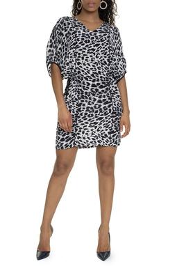 Vestido Curto Animal Print - DG15783