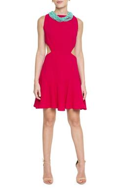 Vestido Curto Recortes - DG15552