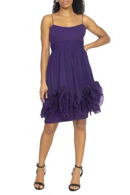 Vestido Curto Alcinha Roxo - DG15386