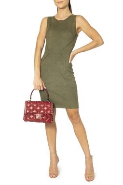 Vestido Verde Regata Suede - DG15030