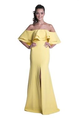 Vestido Mara Amarelo CLM