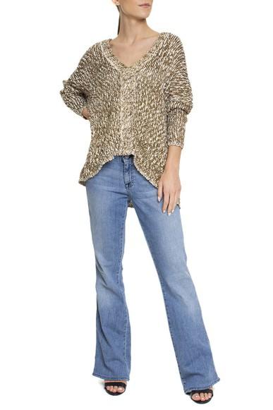 Calça Jeans Azul Claro Flare - DG15527 7 For All Mankind