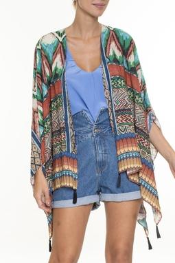 Kimono Estampado Franjas - DG16753