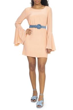 Vestido Coral Pastel De ML - DG15205