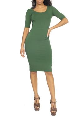 Vestido Verde Midi - DG15075