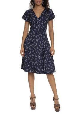 Vestido Curto Estampa Floral - DG15696