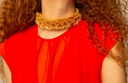 Colar Origem Choker - Dourado