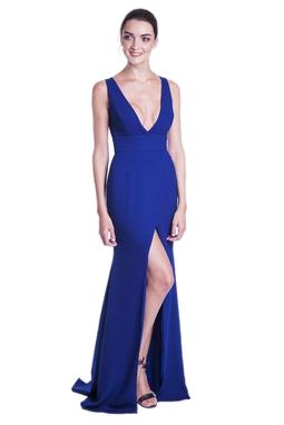 Vestido Job Azul CLM