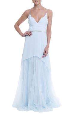 Vestido Dominique Azul CLM