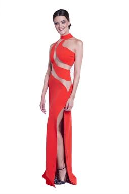 Vestido Bianca Laranja CLM