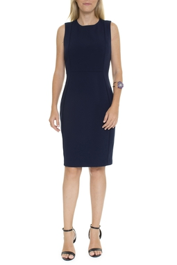 Vestido Tubinho Azul Marinho - DG15647