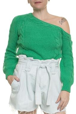 Suéter Tricot Verde - DG16979