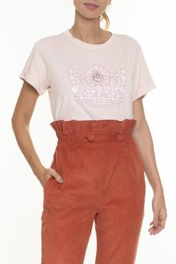 Camiseta Bordado Coroa - DG16507
