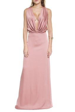 Vestido Rosa Antigo - DG15490