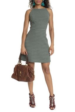 Vestido Verde Estampado - DG15755