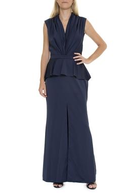 Vestido Azul Marinho Peplum - DG15422