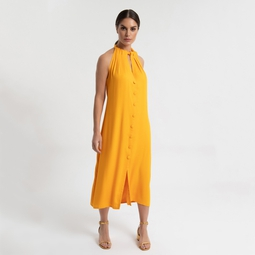 Vestido Aya amarelo