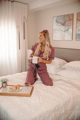 Pijama Dessa - Manga Curta + Calça