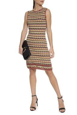 Vestido Curto Regata Zigzag - DG15735