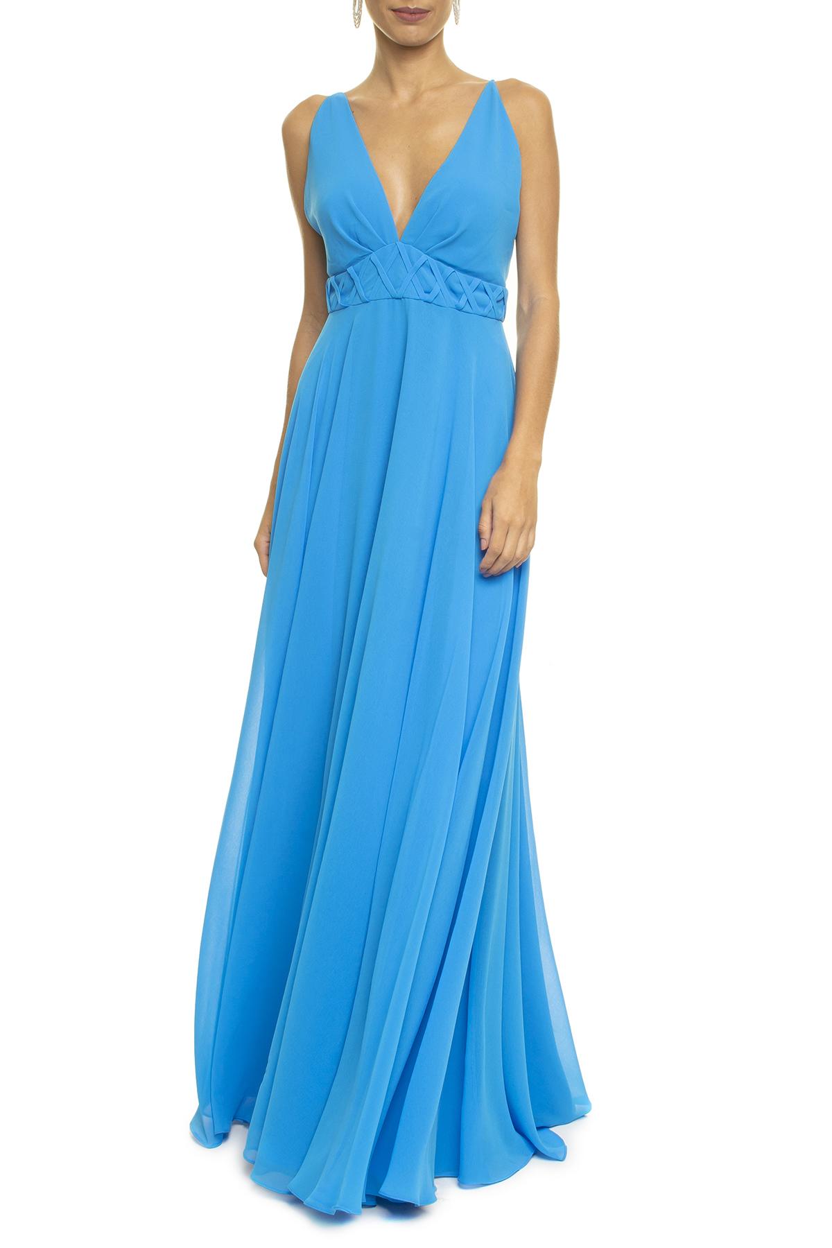 Vestido Lira Blue