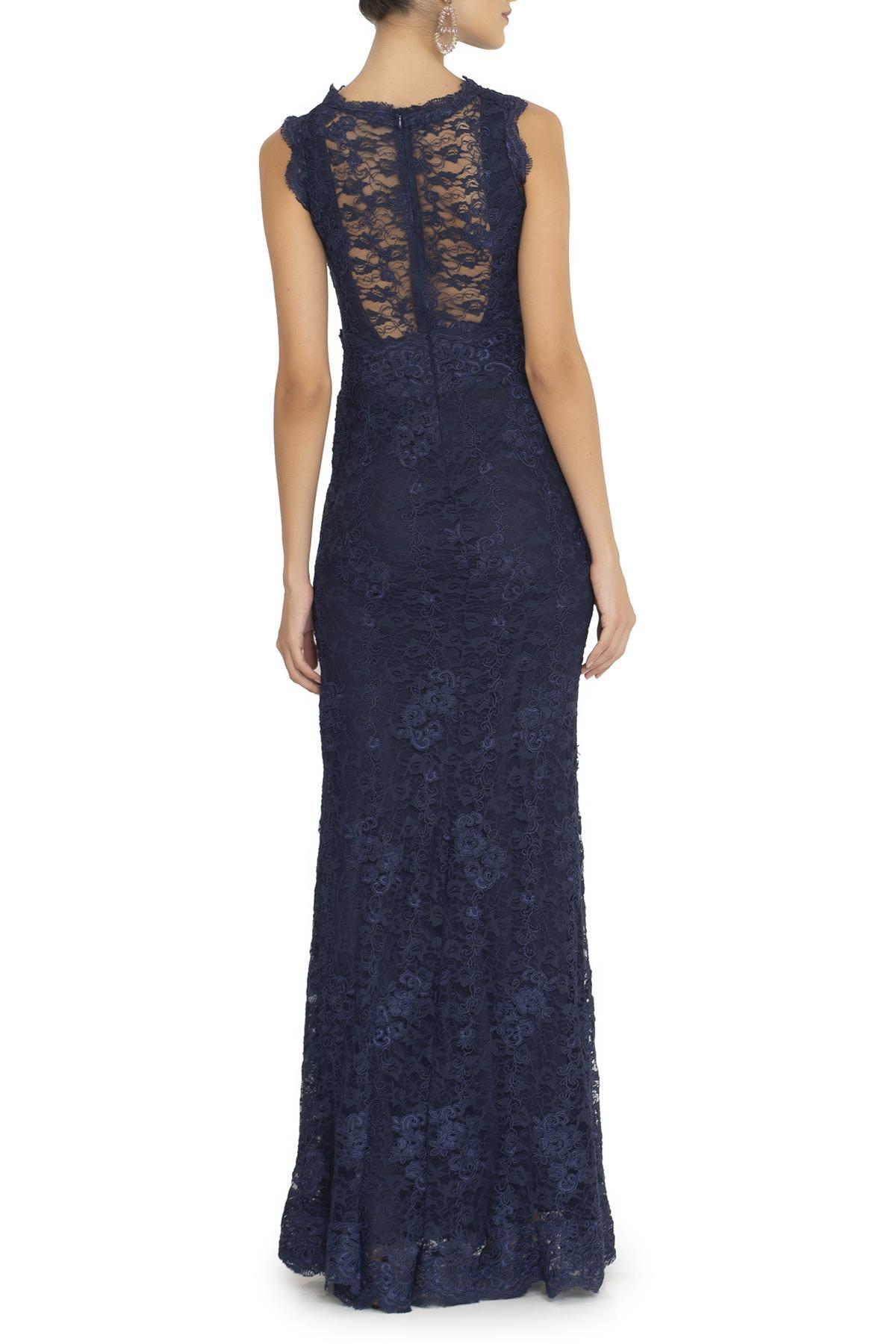 Vestido Lucina Blue Anamaria Couture