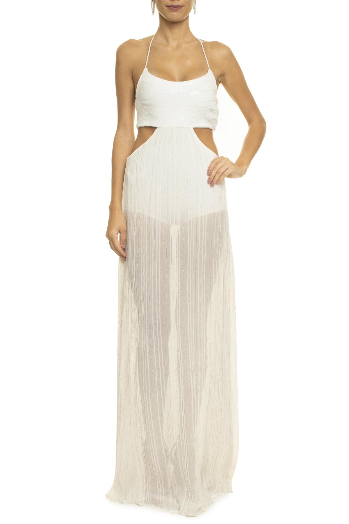 Vestido Seaworth White