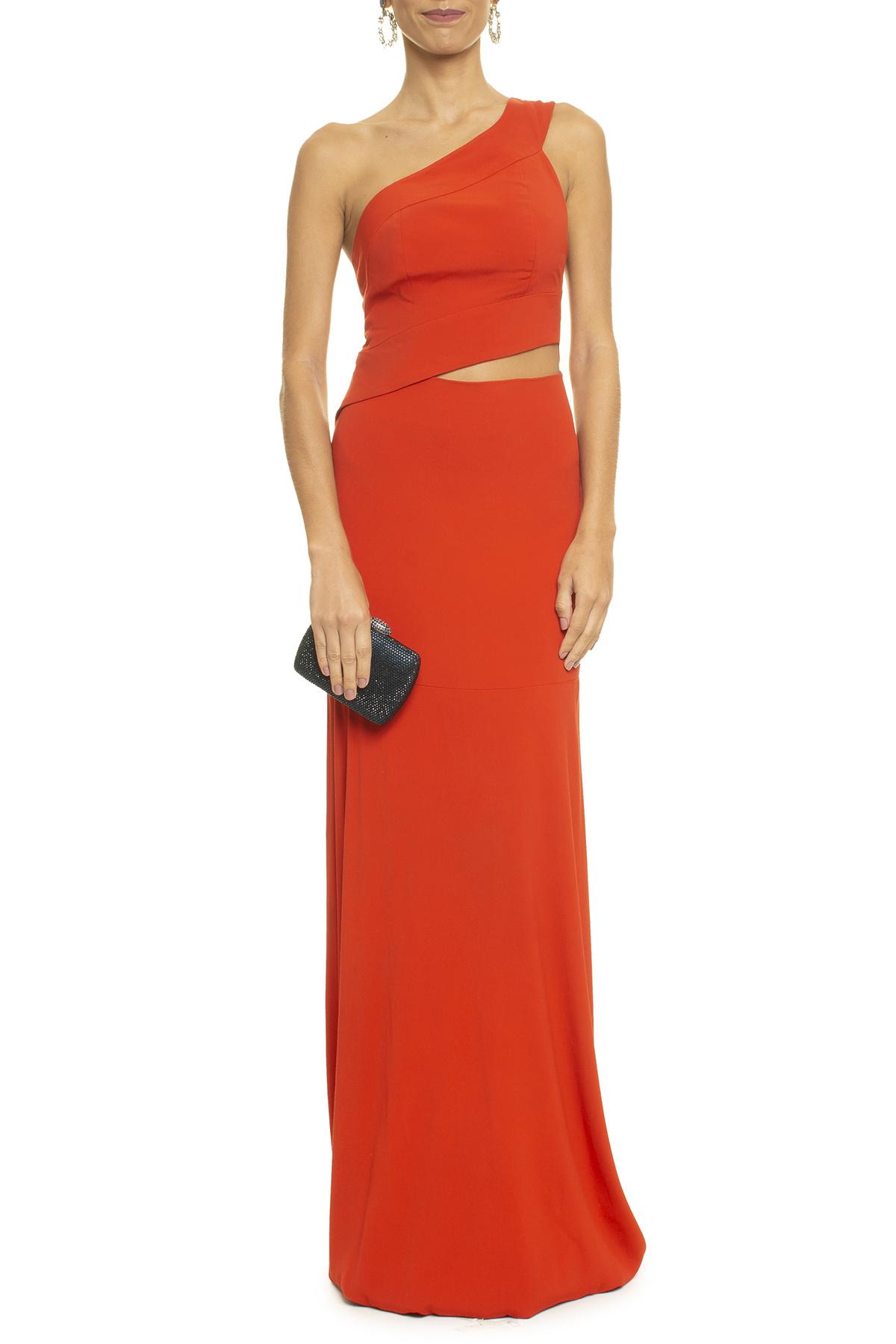 Vestido Simone Orange
