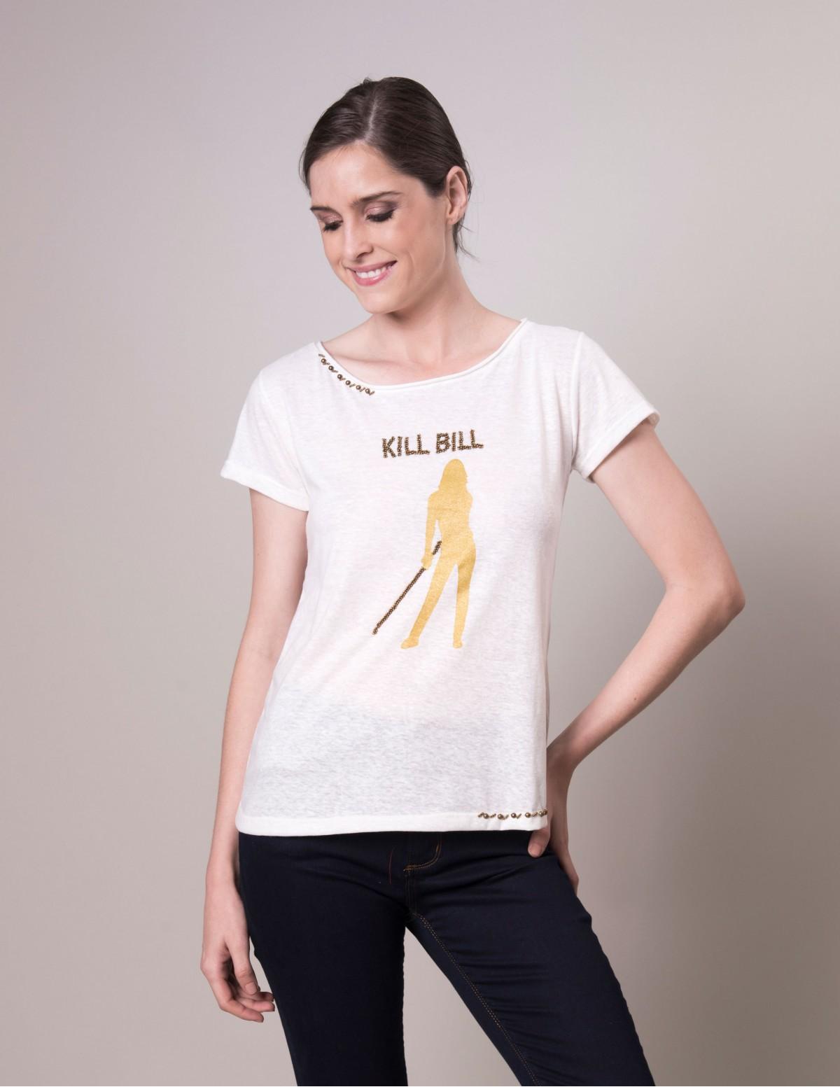 Camiseta Kill Bill - Off Areaoito